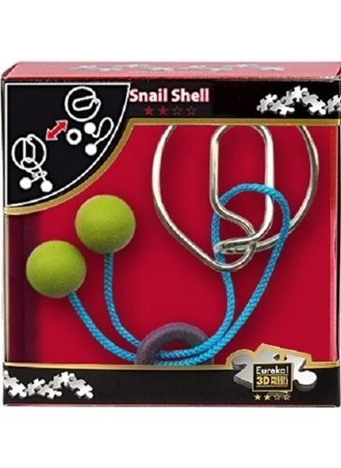 Eureka Eureka Entertainig Puzzle Snail Shell Renkli